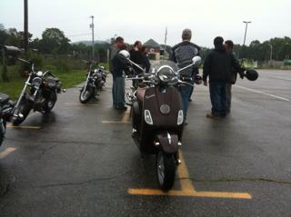 Motorcycle safety school weekend part 1